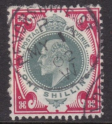 Gb 1902 1S Dull Green & Carmine, Fine May 1902 Devonshire St Cds
