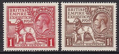 Gb 1924 Wembley Set Unmounted Mint