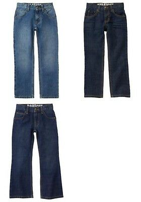 New Gymboree Boys Classic, Bootcut, and Straight Jeans Size 6, 7, and 8 Denim