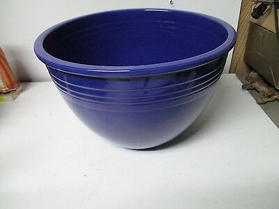 Original Fiesta Mixing Bowl #7 - Cobalt Blue - No Damage