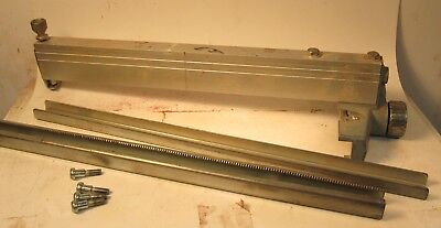 """Delta 14"""" Bandsaw Fence Assembly - Includes Fence, 2 Rails & Mounting Bolts"""