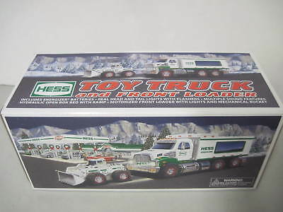 Mib Hess 2008 Toy Truck And Front Loader