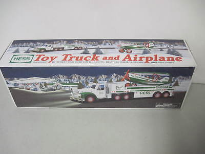 Mib Hess 2002 Toy Truck And Airplane