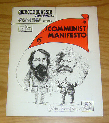 Quixote Classic Illustration vol. 10 #2 FN communist manifesto - marx & engels