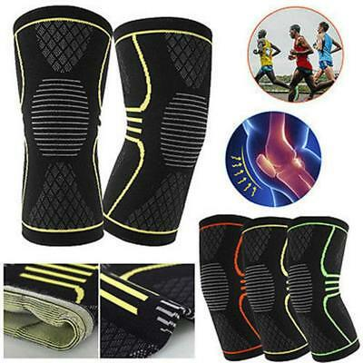 Compression Knee Sleeves Running Sleeve Basketball Cross-fit knee Support Sports