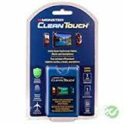 Monster CleanTouch for TouchScreen Tablets iPads iPhones SmartPhones eBooks etc
