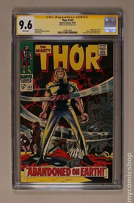 Thor (1962-1996 1st Series Journey Into Mystery) #145 CGC 9.6 SS 1418519001