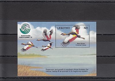 Timbre Stamp  Bloc Lesotho Y&t# ? Oiseau Bird  Neuf**/mnh-Mint 1992 ~A09