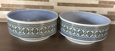 Hornsea Pottery Tapestry Cereal Bowls X 2