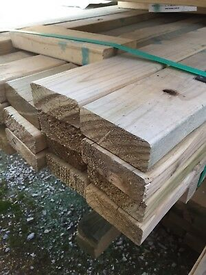 Pack Lot - 90mm x 35mm x 6.0m Treated Pine Merch - $1.40 lm - Pack #Q89