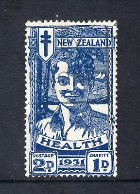 #262 New Zealand 1931 Health Smiling Boy 2d+1d SG547 G-FU c£60