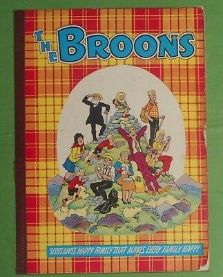 The Broons , 1963 , Dudley D Watkins Comic Annual.