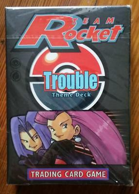 Pokemon Team Rocket TROUBLE Theme Deck: Still Sealed !!