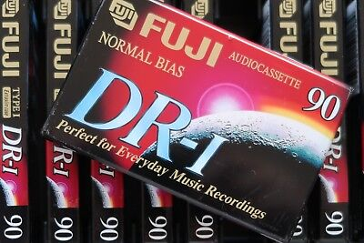 Fuji Dr-1 90 Normal Position Type I Blank Audio Cassette Tape