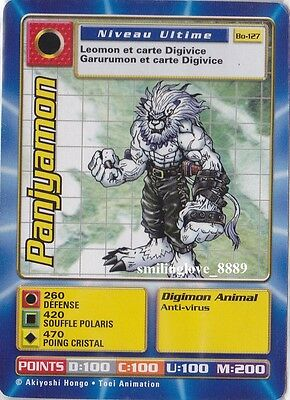 MINT DIGIMON DIGI-BATTLE CARD - FRENCH BOOSTER SERIES 3 - Bo-127 PANJYAMON