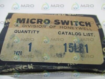 Microswitch 15Ls1 Limit Switch *new In Box*