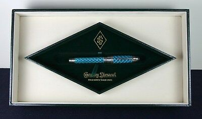 ESTATE FIND! Conway Stewart Westminster Fountain Pen Sterling & Enamel  WOW!