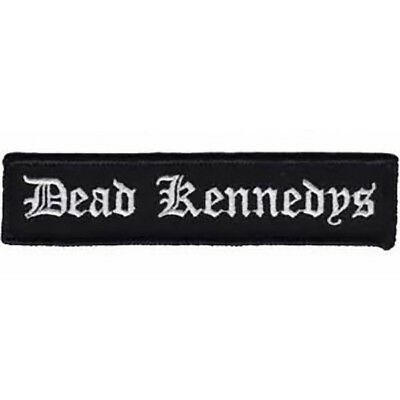 Dead Kennedys Iron-On Patch Old English Logo
