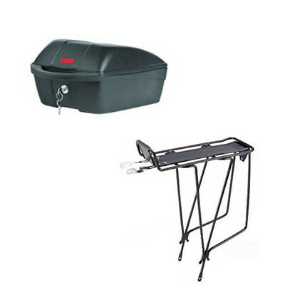 X Tech Rear Carrier 12L Bicycle & Rear Rack Combo