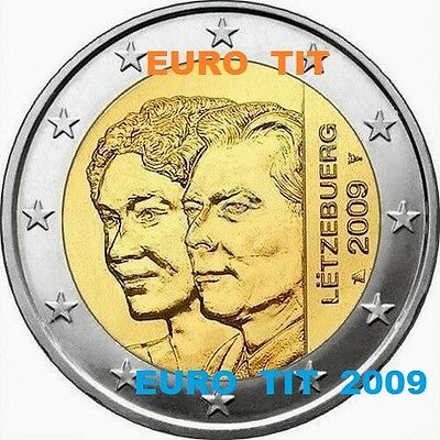 2 €   LUXEMBOURG  COMMEMORATIVE   2009     1   X    PIECE             disponible
