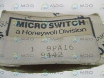 Microswitch 9Pa16 Actuator Head *new In Box*