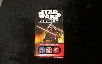 Awesome Star Wars Destiny Kylo Ren Starter Set Dice & Card game New sealed