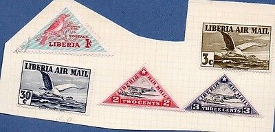 LIBERIA - 5  STAMPS - MAINLY MINT AND 1930s