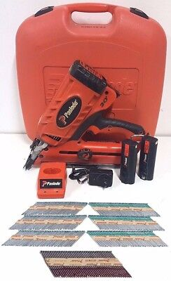 Paslode Cordless 30 Degree Framing Nailer Cf325 902200 In Case W/ Accessories