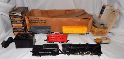 American Flyer SET 4904T 1950-51 w/290 4-6-2 diecast Pacific freight in BOX Link