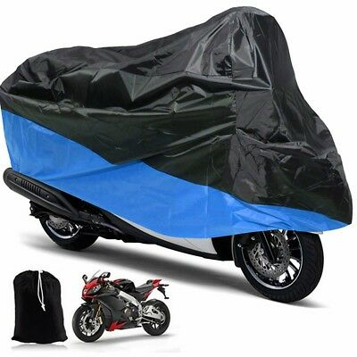 Waterproof Outdoor Motorcycle Motorbike Cruiser Scooter Cover Anti-Dust M+Bag