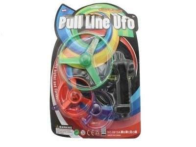 48 packs flying ufo discs with launcher kids toy bulk wholesale lot