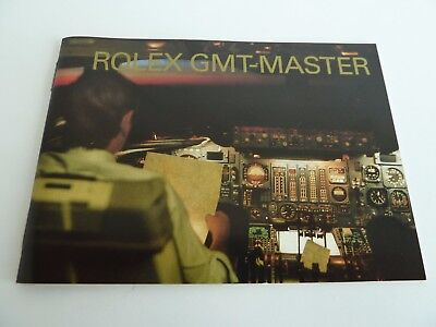 Rolex GMT Master Booklet - deutsch von 11-2002