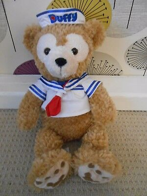 """Disney Store 16"""" Duffy Bear With Sailor Outfit *exc Cond*"""