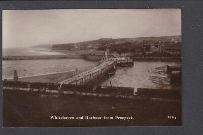Cumberland - Whitehaven & Harbour from Prospect RP - Pub Brittain & Wright 2104