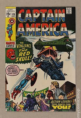 Captain America (1968 1st Series) #129 VF- 7.5
