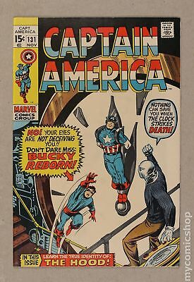 Captain America (1968 1st Series) #131 FN/VF 7.0