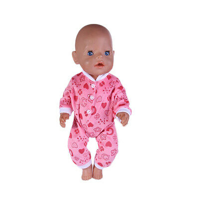2017!!fashion Top-clothes-pants-for-43cm-Baby-Born-zapf-Doll-clothes N519