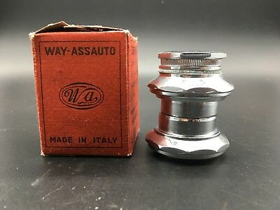 Vintage Way-Assauto Headset Nib Italian Thread (Serie Sterzo)