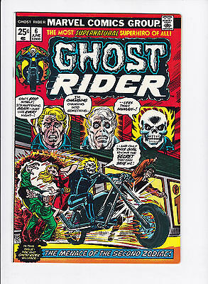 Ghost Rider #6 Vf/nm