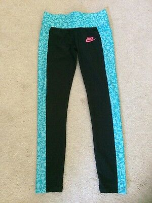 NIKE Girls Sports Leggings Age 8-10 Years **Excellent Condition**