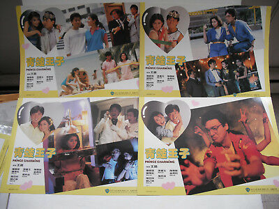 PRINCE CHARMING shaw brothers LOBBY CARDS 1984
