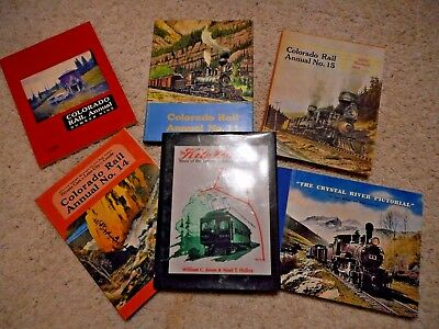 Colorado Annuals 9, 11, 14 & 15 Plus Crystal River Pictorial & Kite Route