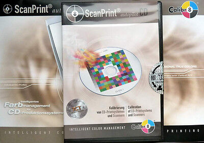 ScanPrint autopilot CD Colormanagement Kalibrierung CD Printsysteme Scanner