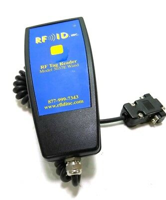 RFID Inc. 3037E RF Tag Reader, LED Indicator, Vibration, 9V Battery, 5' Cable