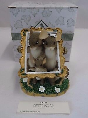 Charming Tails  FAMILY PORTRAIT 89/124 Mouse Frame Figurine