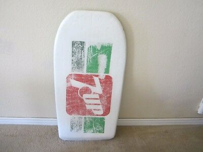 RARE! OLD 1970s  MOREY BOOGIE / 7 UP PROMO  BODYBOARD 42''