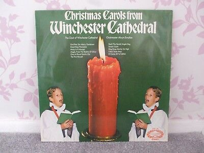 Vinyl Record Lp Christmas Carols From Winchester Cathedral