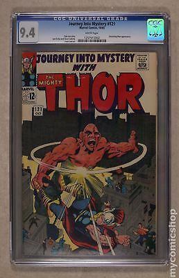 Thor (1962-1996 1st Series Journey Into Mystery) #121 CGC 9.4 1257915002