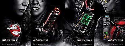 Ghostbusters - original DS movie poster - 27x40 D/S 2016 Advance set of 4