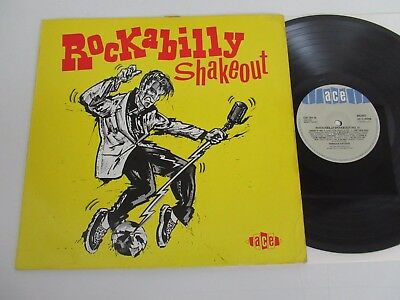 Various Artists/rockabilly Shakeout  Lp 1986 Uk Ace Ch 191